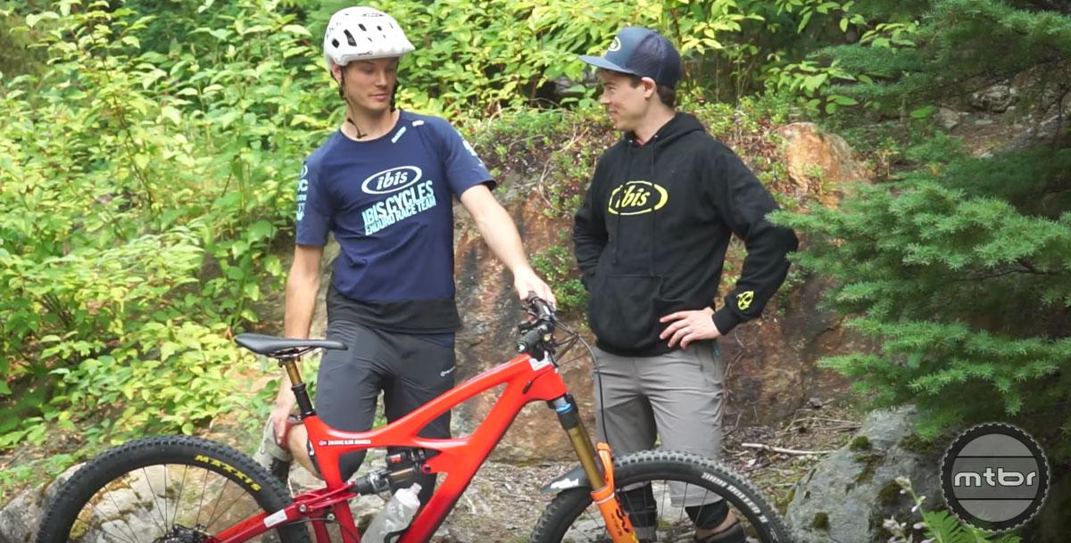 Ibis Pro EWS Enduro Team Bike Checks