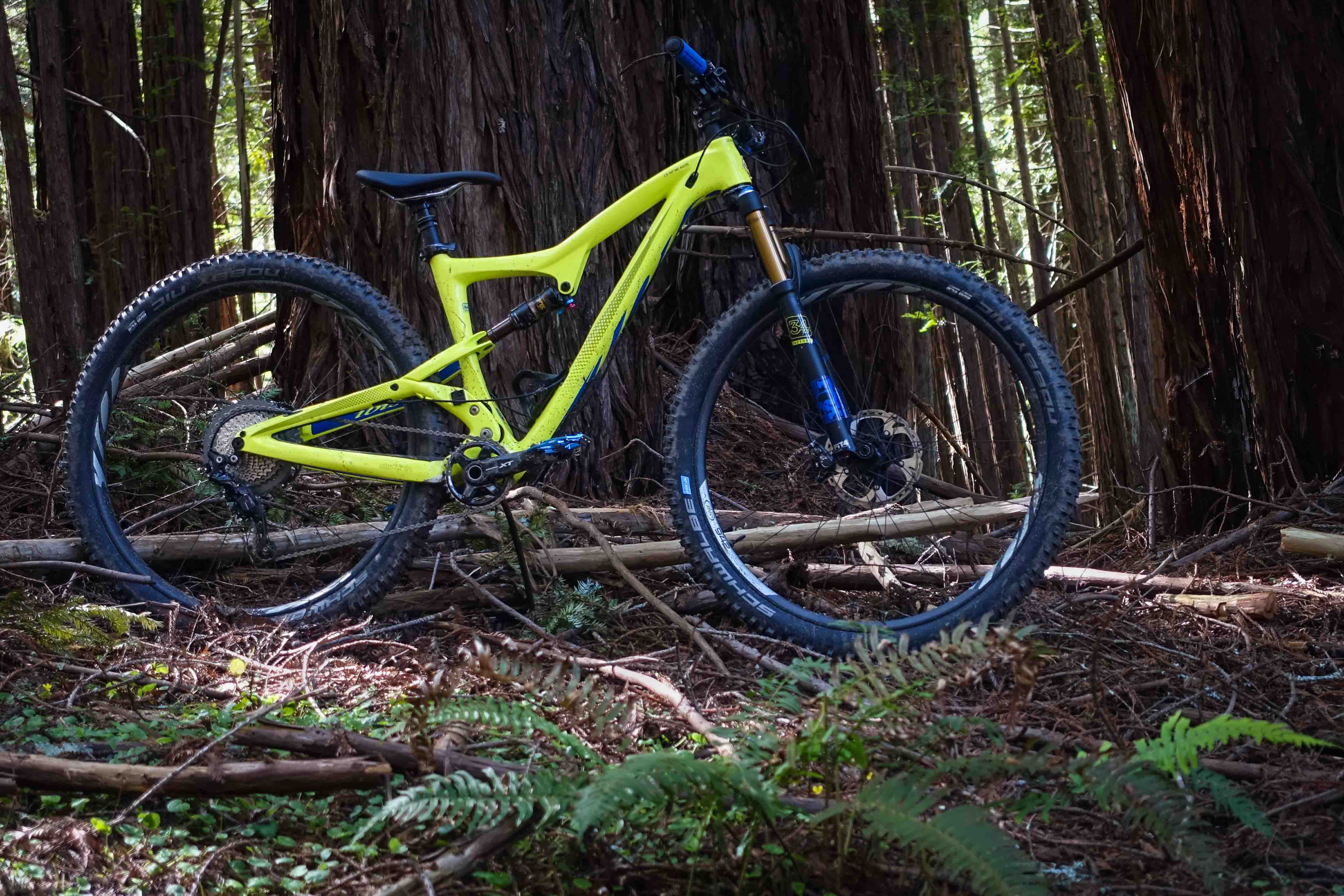 The new V3 version of the Ibis Ripley LS retains the same geometry and kinematics. The big difference is the improved tire clearance.