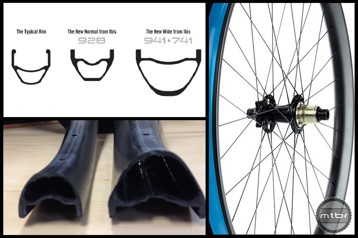A wider rim profile equals better stiffness, durability and traction.