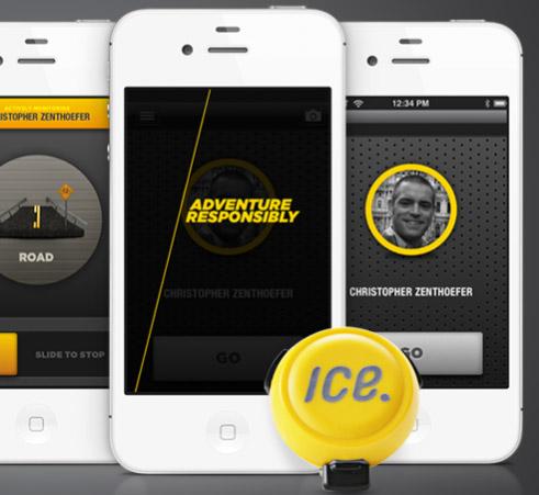 ice. smart phone app