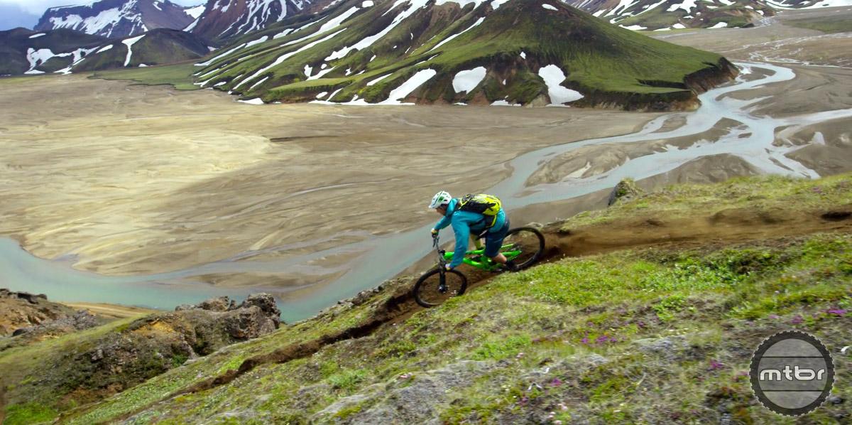 Sam Seward shreds in this majestic landscape.