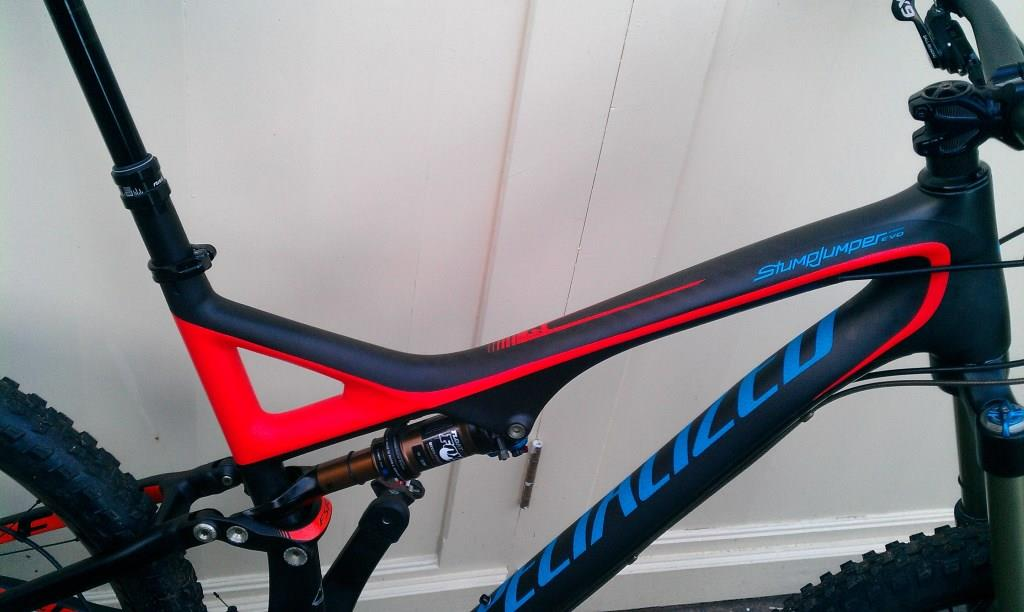 Custom Specialized Stumpjumper vinyl sticker decals