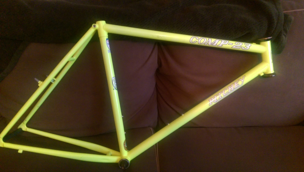 Input on my 1992 Ritchey Comp 23 frame and Paul Components Brakes ...