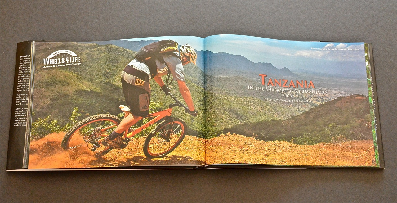 25 Years of Riding the World by Hans Rey