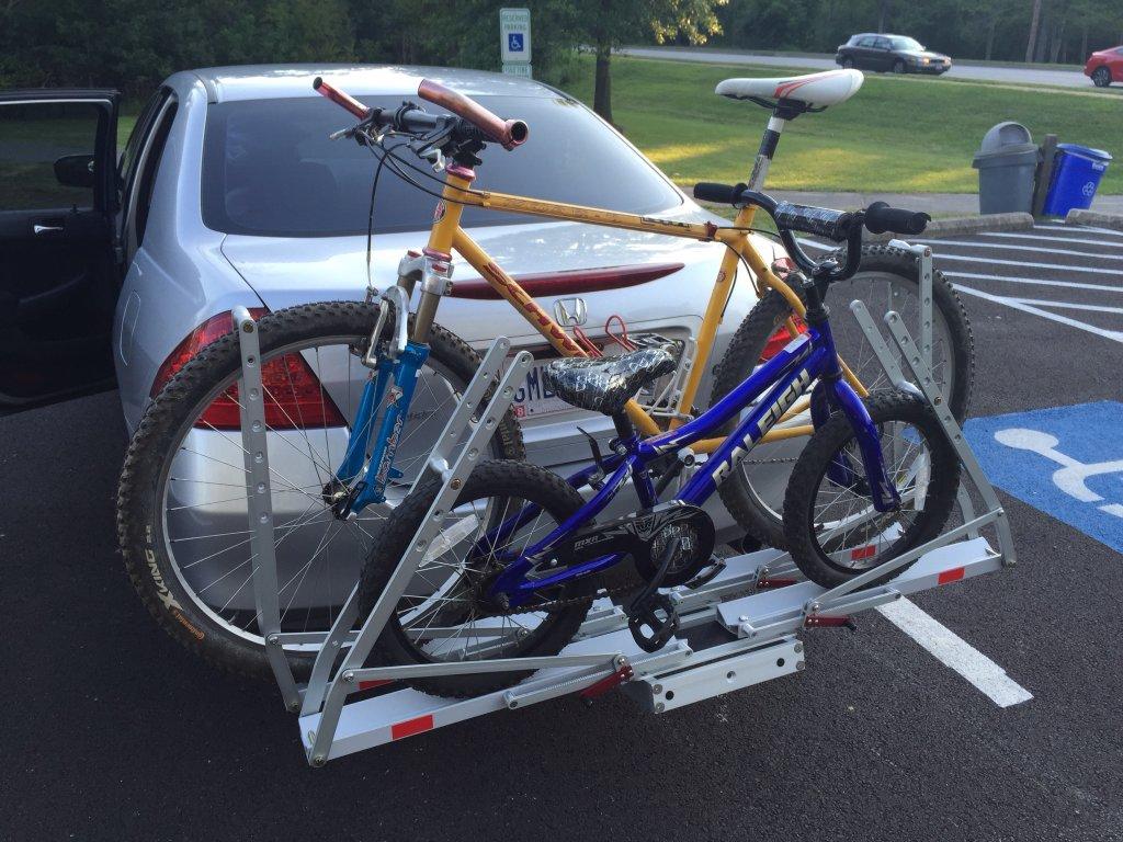 bicycle racks cycles deluxe to hollywood bike car hover rack merlin zoom