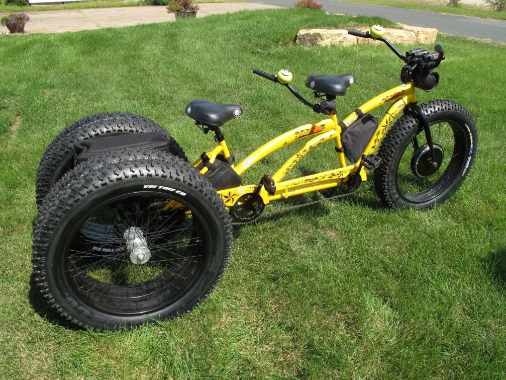 fat tire trike the ultimate tandem trike. Black Bedroom Furniture Sets. Home Design Ideas