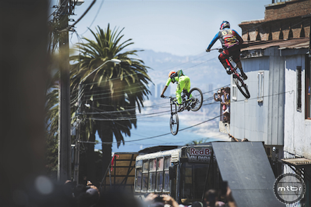 POV video from world's gnarliest urban downhill track