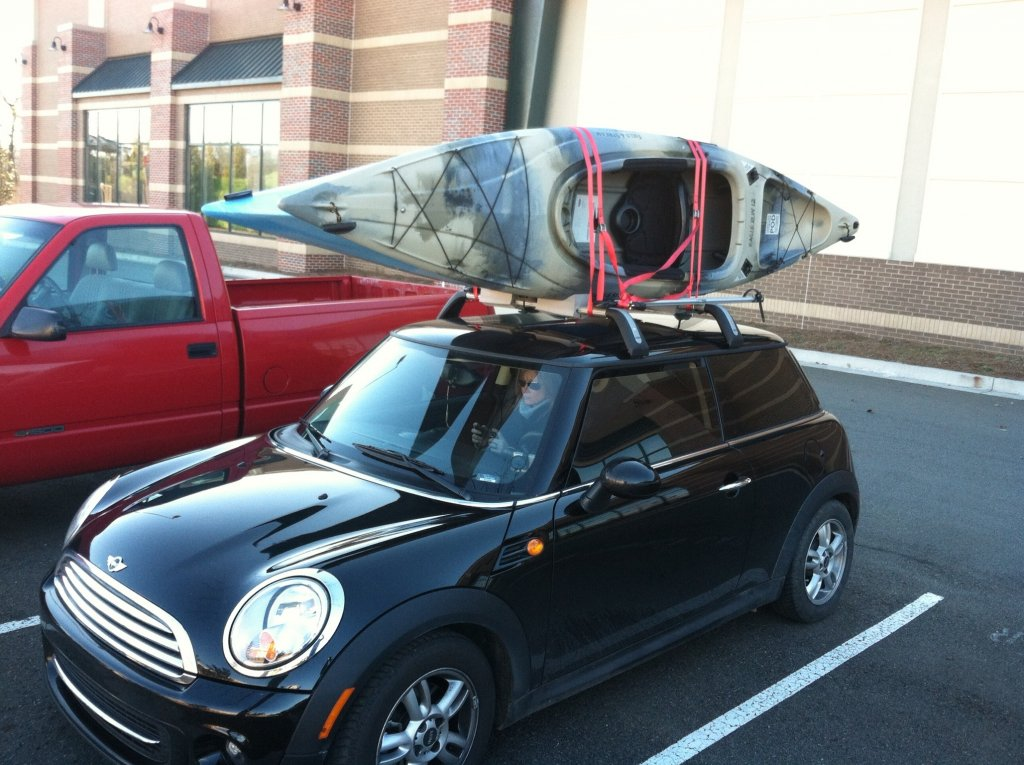 Image Mini Cooper Roof Or Hitch Rack? Image