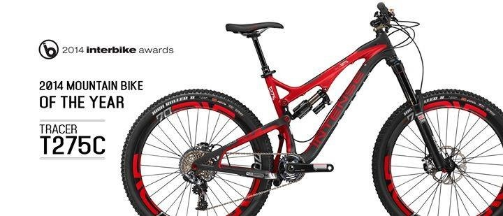 The Tracer T275c is the Interbike Bike of the Year!-image.jpg