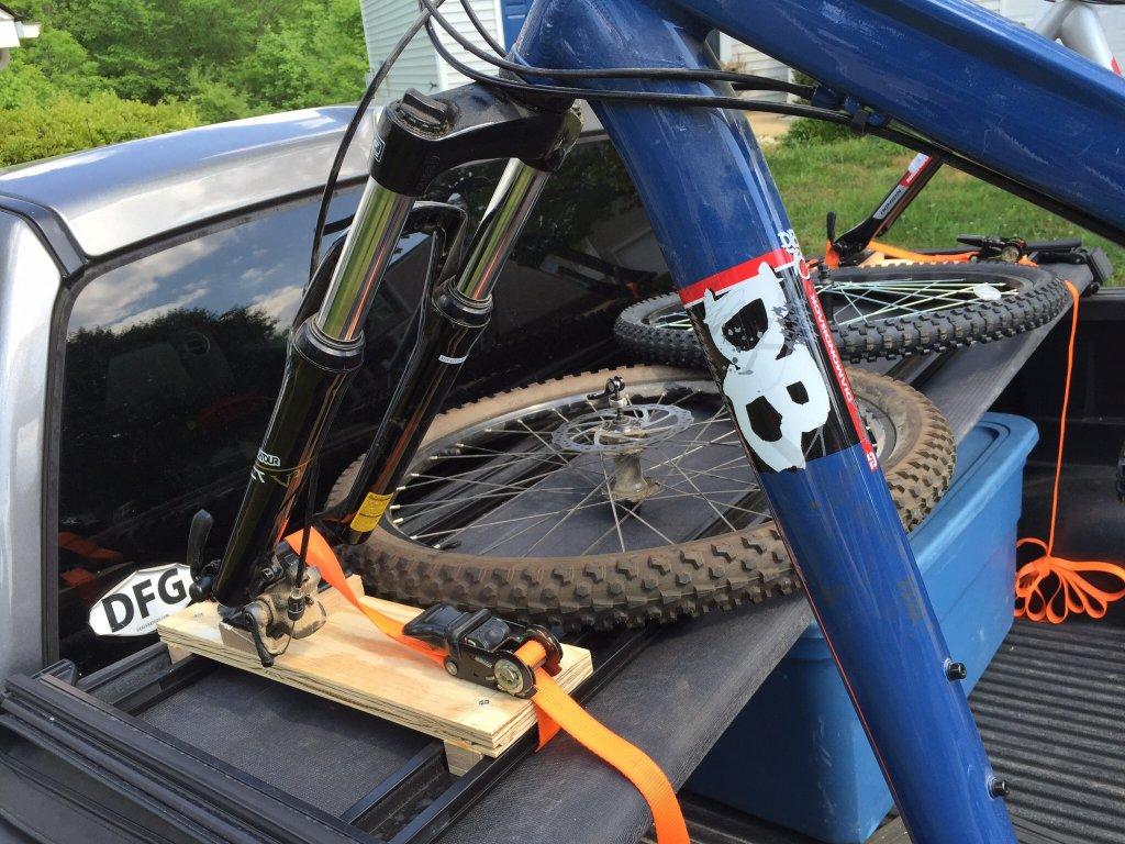 Tri Fold Bed Cover Bike Rack Mtbr Com