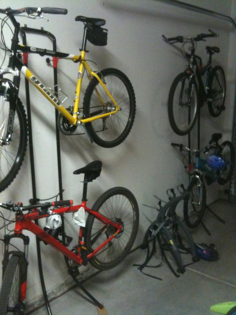 Bike Storage In Garage Mtbr Com