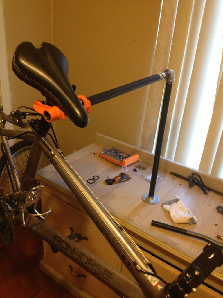 Home Made Bike Repair Stand Mtbr Com