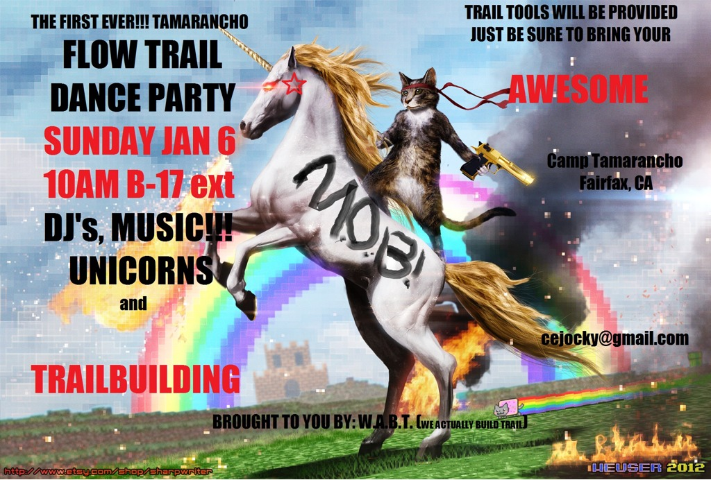 Tamarancho Flow Trail Party - if you live in the Bay Area you should show up-imageuploadedbytapatalk1356995706.332194.jpg