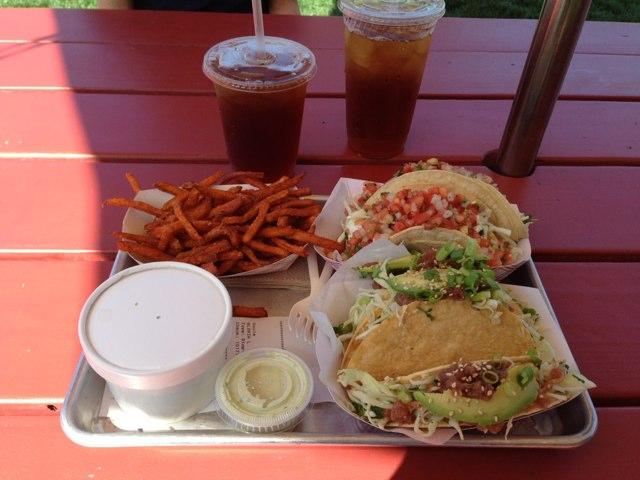 Fish Tacos !-imageuploadedbytapatalk1383360049.543405.jpg