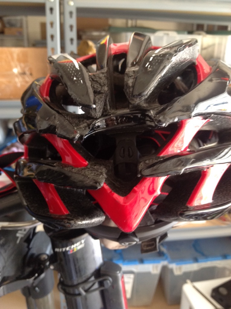 Small crack in helmet. How is this dangerous?-imageuploadedbytapatalk1394474234.527943.jpg