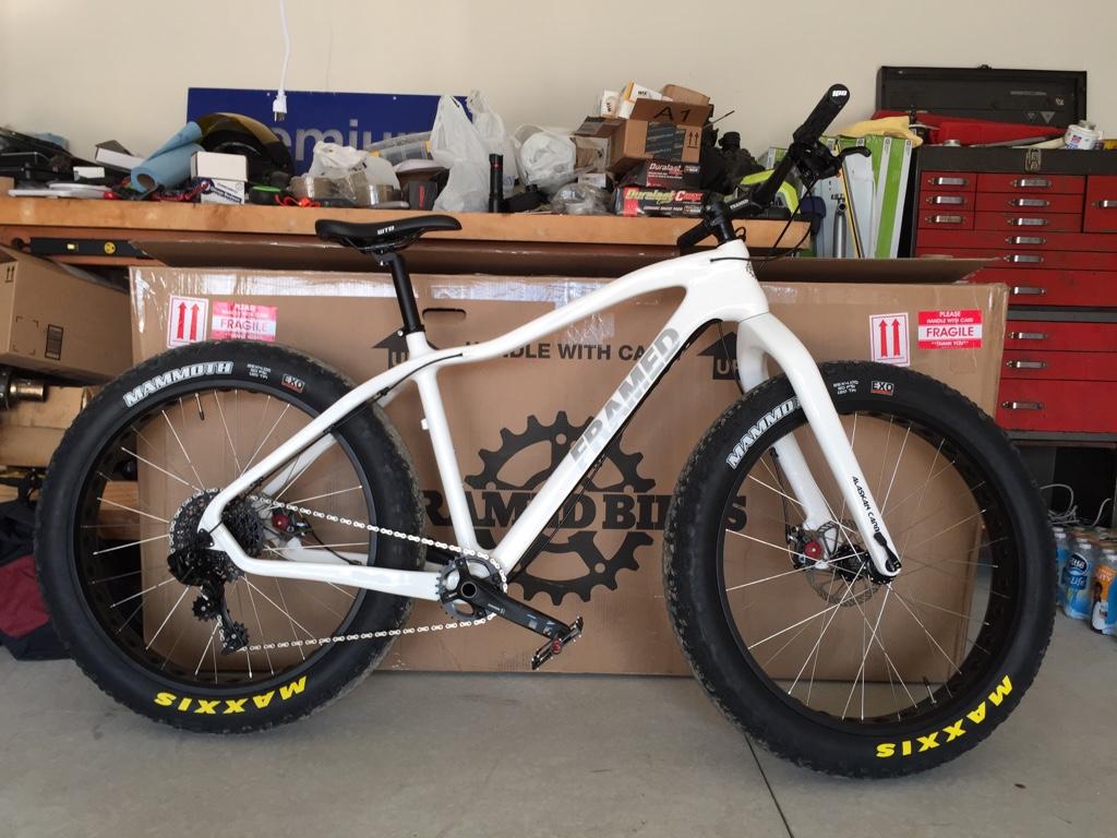 First Fat Bike Framed Carbon Alaskan Imageuploadedbytapatalk1441593035 814242 Jpg