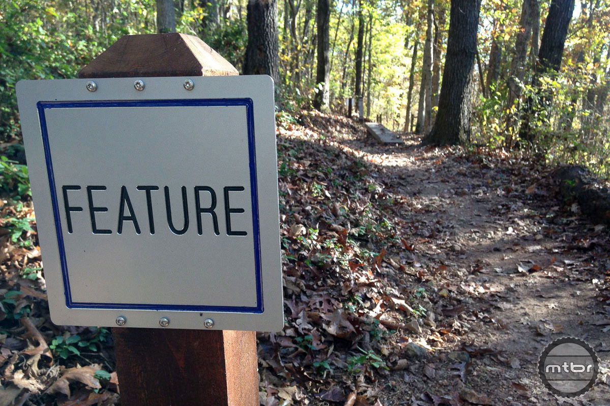 The NW Arkansas trails are very well marked.