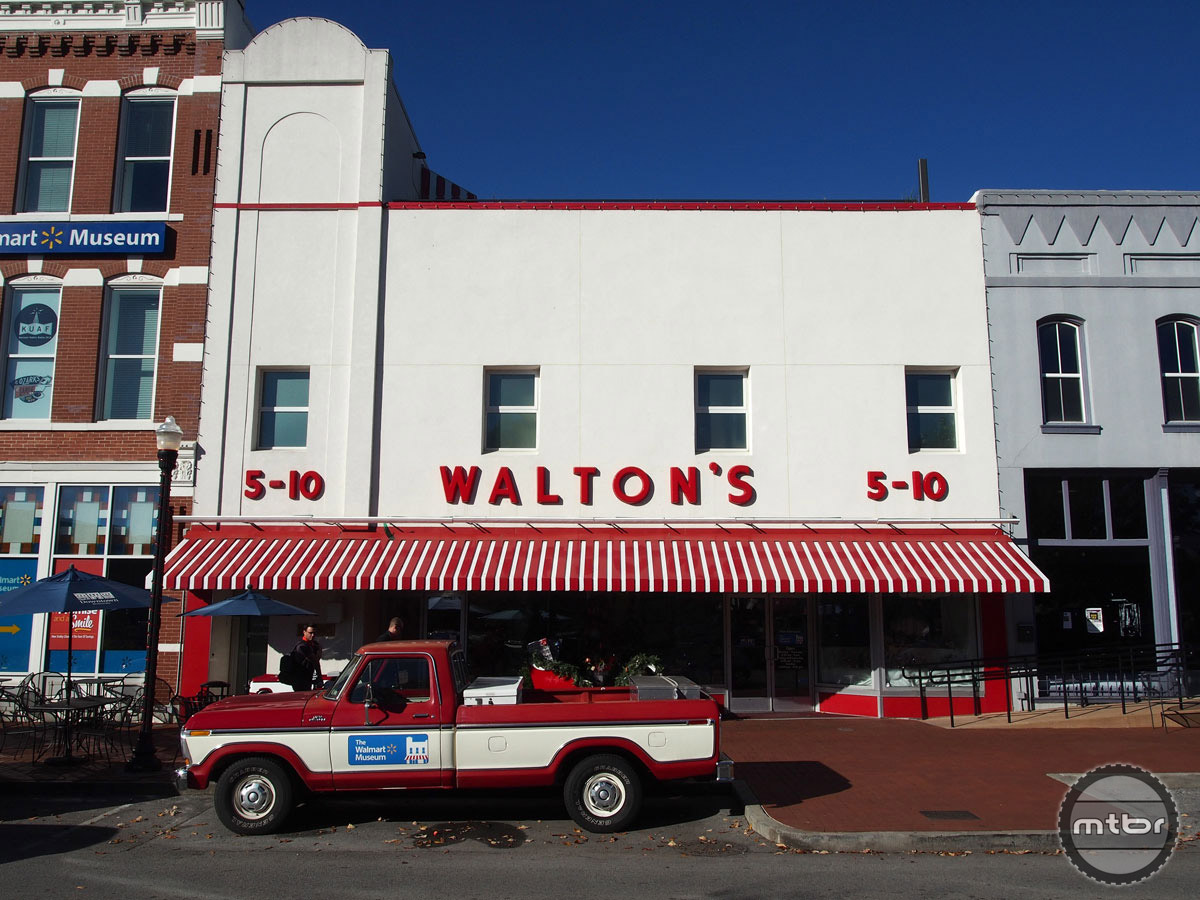 Before there was Walmart there was Walton's 5-10, which still operates in downtown Bentonville.