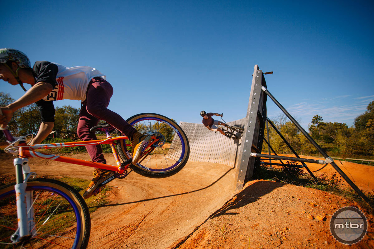 The Railyard bike park in nearby Rogers is a great compliment to the adjacent Lake Atalanta trail system. Photo courtesy IMBA/Liz Chrisman