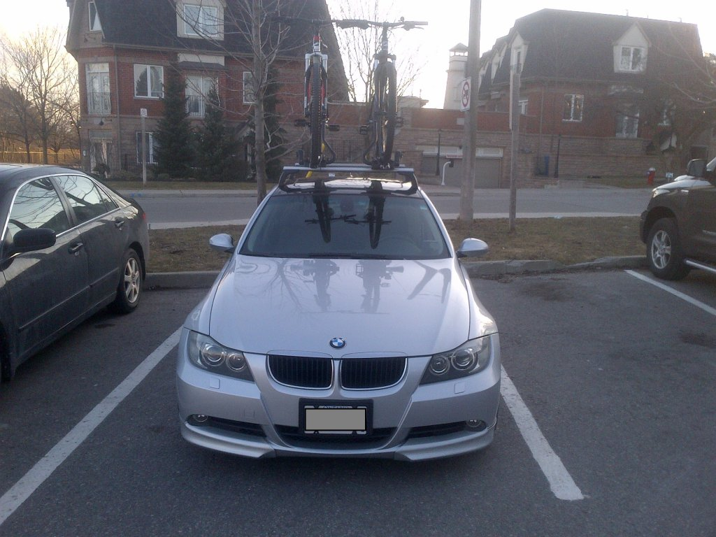 BMW I Integrated Roof Rack Mtbrcom - Bmw 335i bike rack