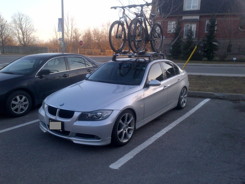... BMW 335i Integrated Roof Rack? Img 20130316 00085