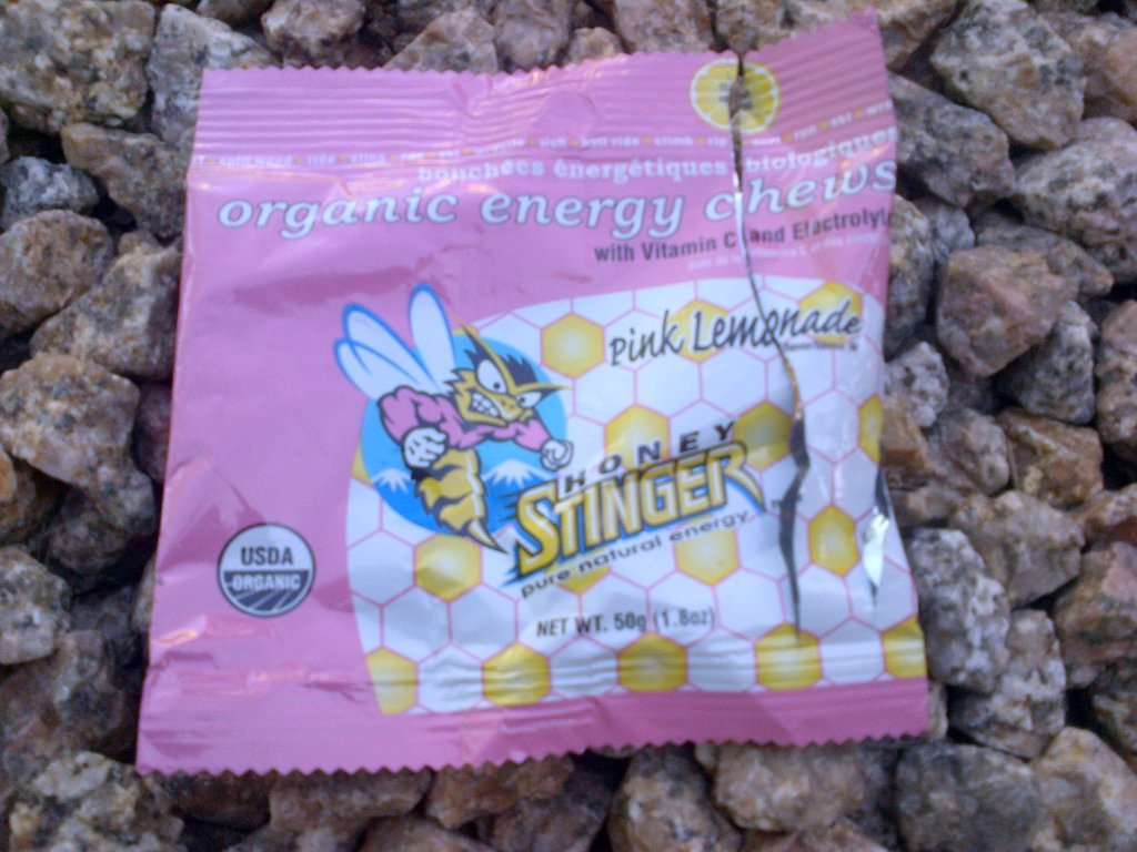 Not Cool Mr Honey Stinger on BCT this morning-img-20130525-00187.jpg