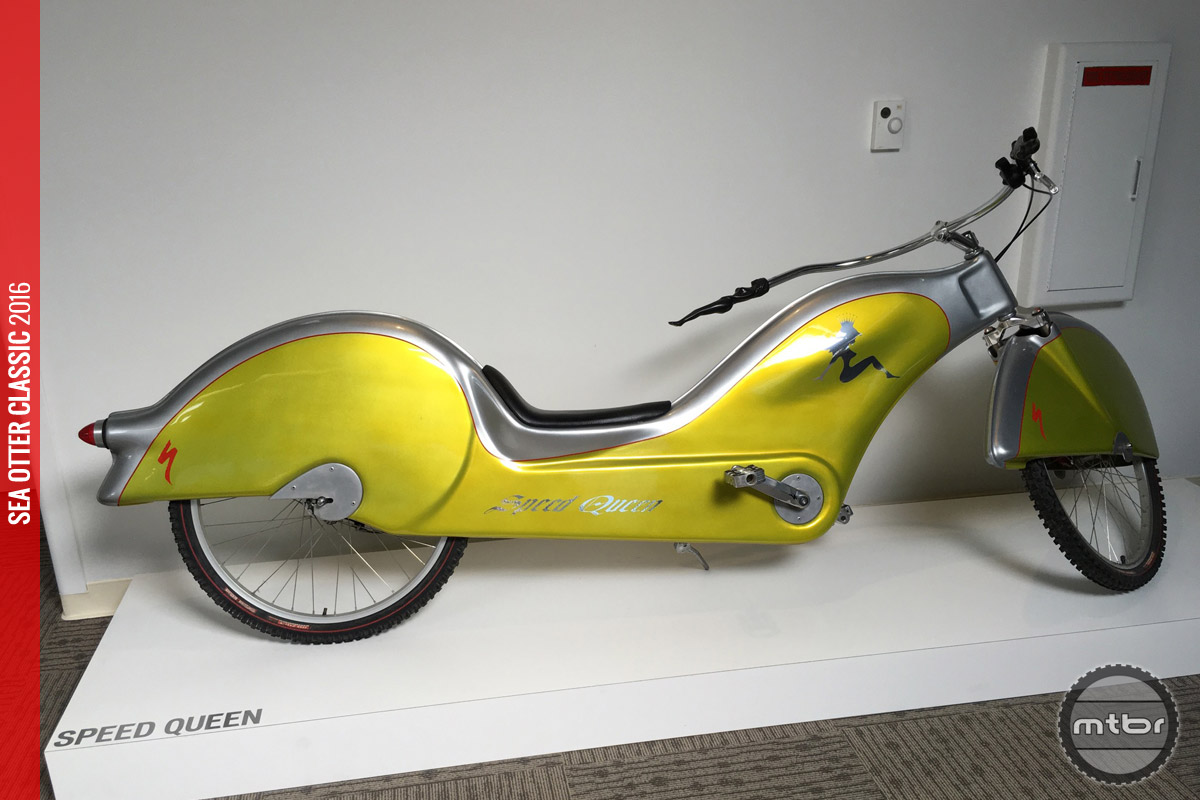 Can't say the Speed Queen is our favorite Egger designed bike
