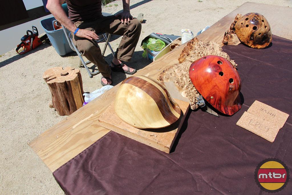 wood helmets