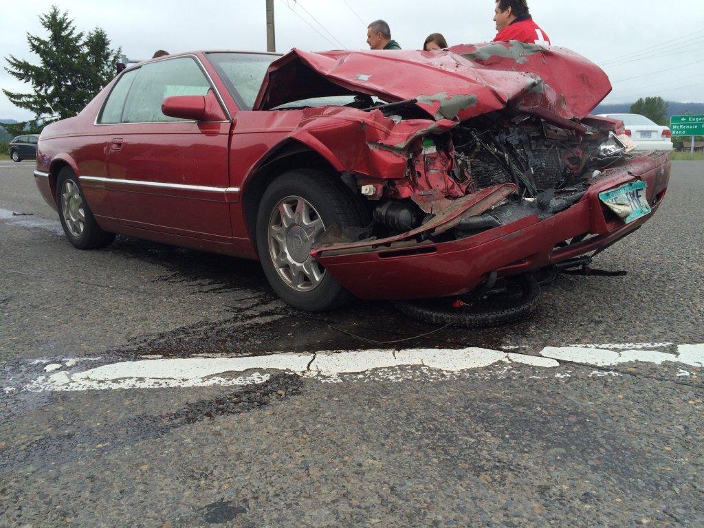 Wrecked car, stolen Bronson, new Nomad!- Mtbr.com