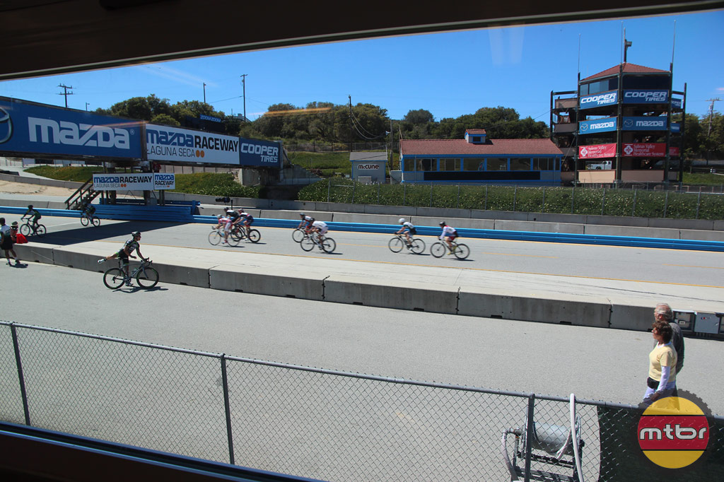 road racers on track