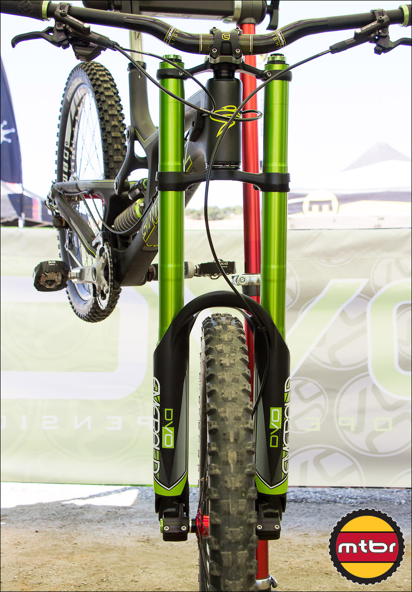 The DVO Emerald Inverted - Prettiest Fork On The Planet