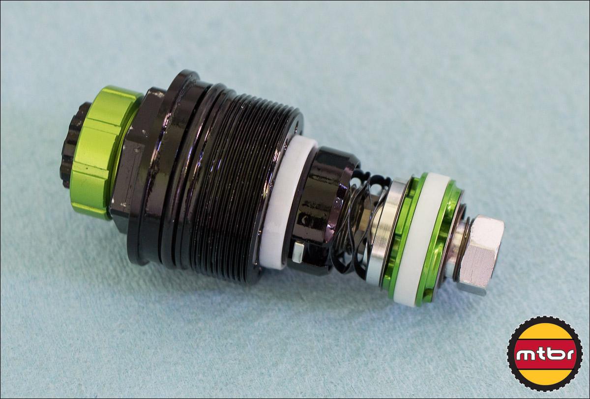 DVO Emerald Fork - Bottom Loader High & Low Speed Compression Unit