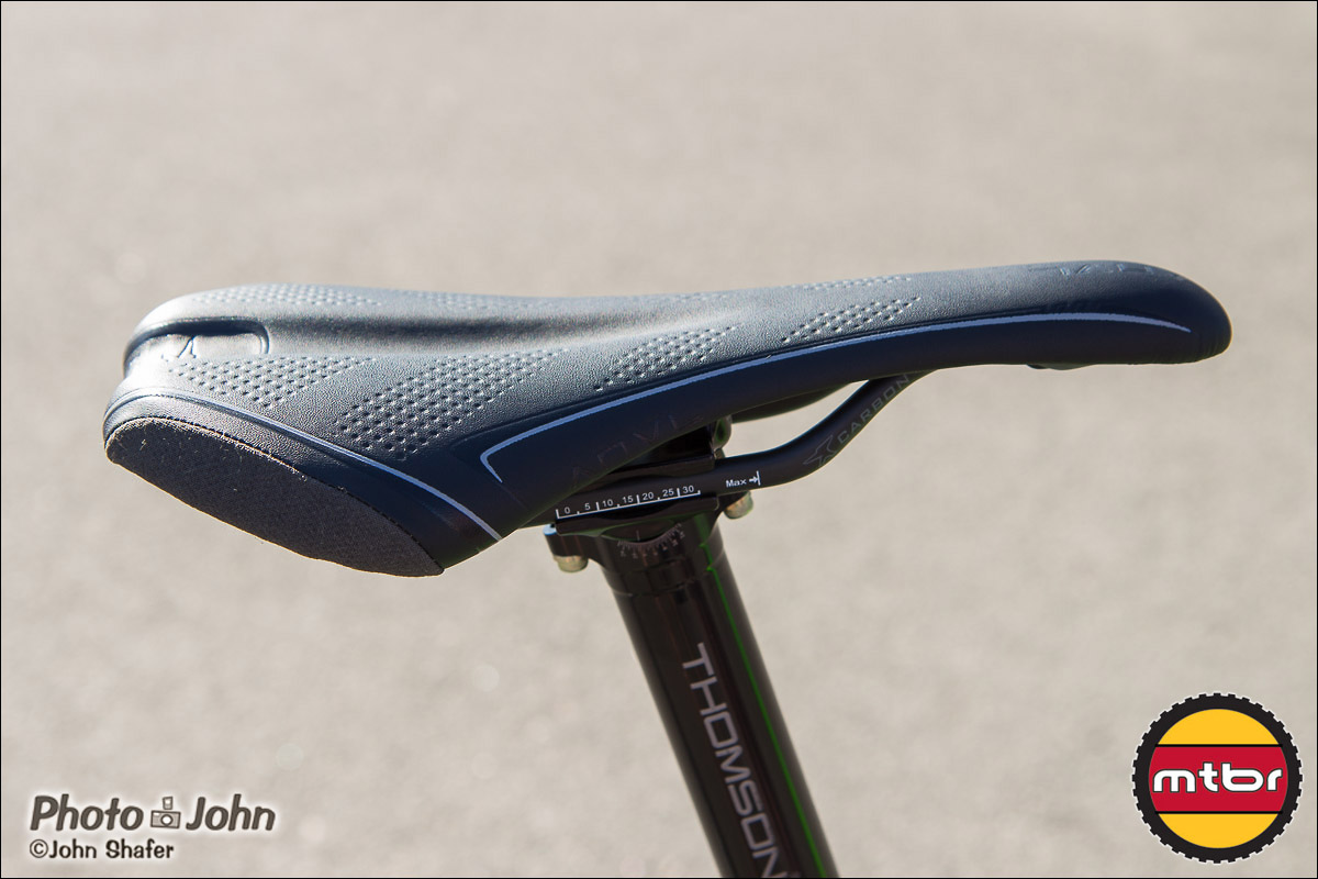 Anvl Components - Forge Saddle - Side View