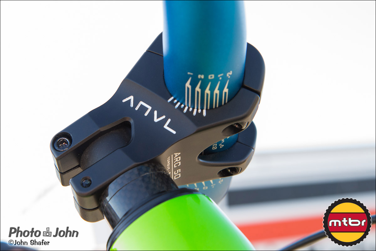 Anvl Components - Arc Stem - Bottom View