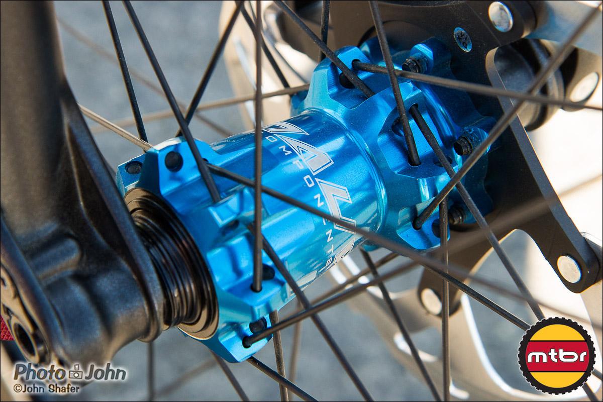 Front Hub - Anvl Components Scale Wheelset