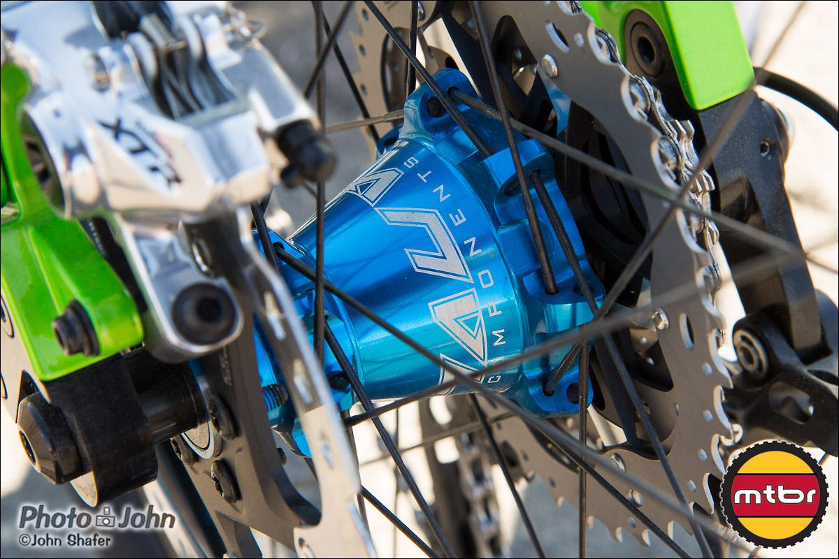 Rear Hub - Anvl Components Scale Wheelset