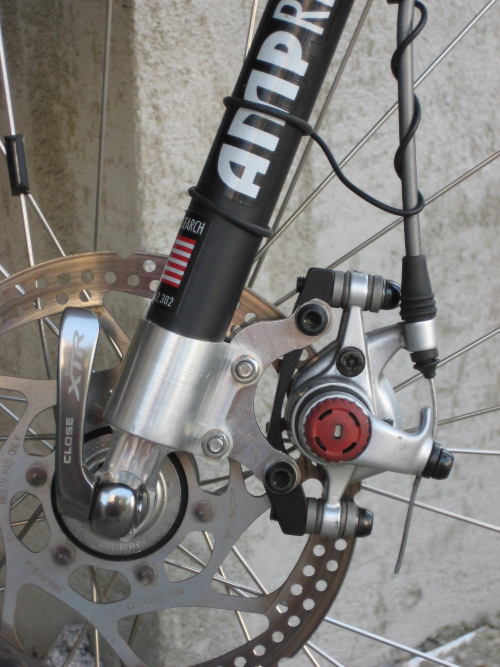 Amp To Iso Disk Brake Conversion Mtbr Com
