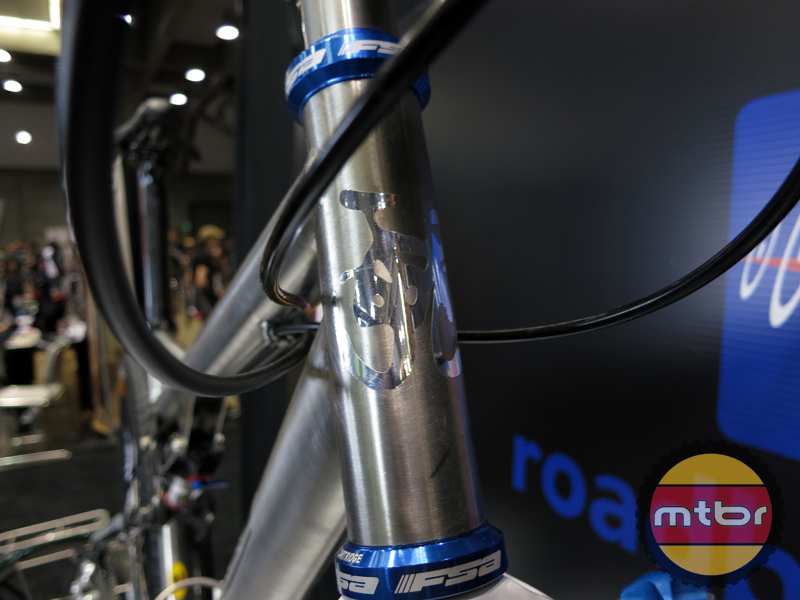 Ti Cycles - Custom VPP head tube head badge
