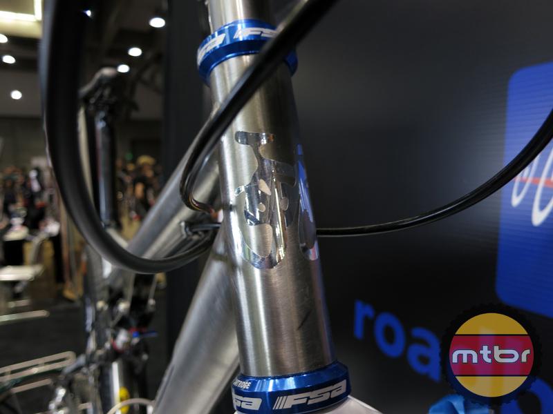 Ti Cycles - Custom VPP head tube head badge