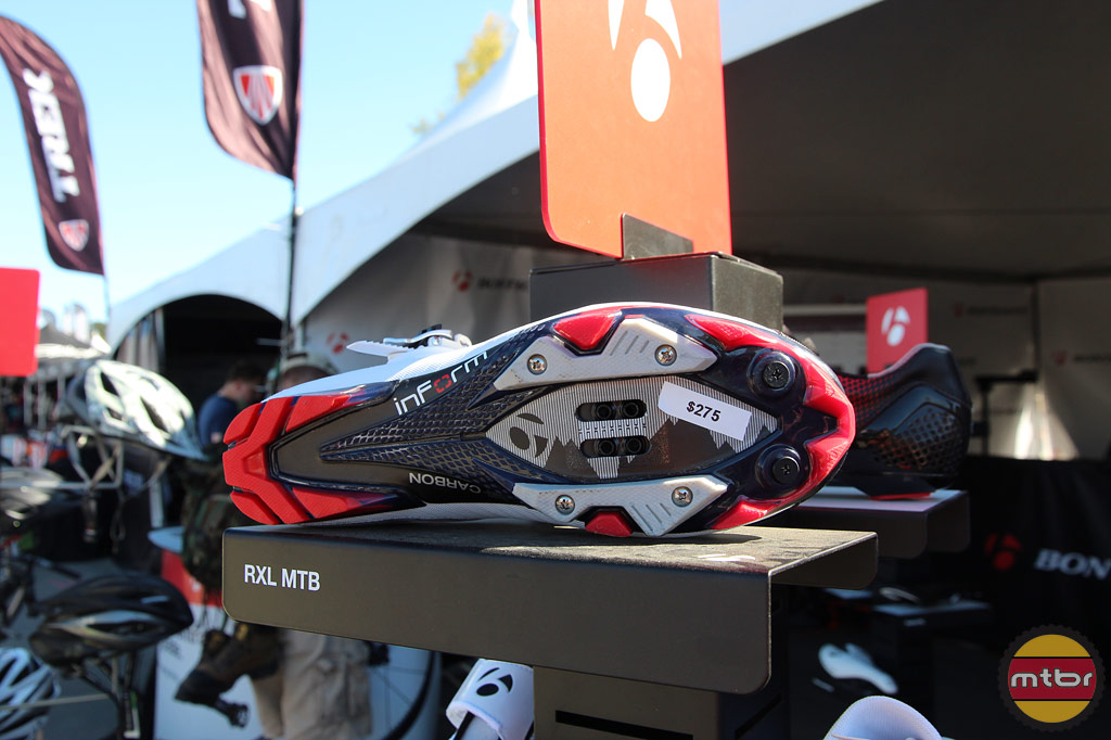 Bontrager RXL MTB shoe - sole