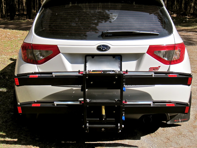 Anybody with 2012 Subaru Impreza with hitch installed Mtbrcom