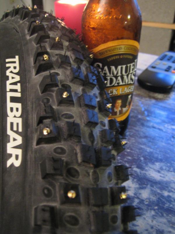 Homemade Studded Tires Mtbr Com