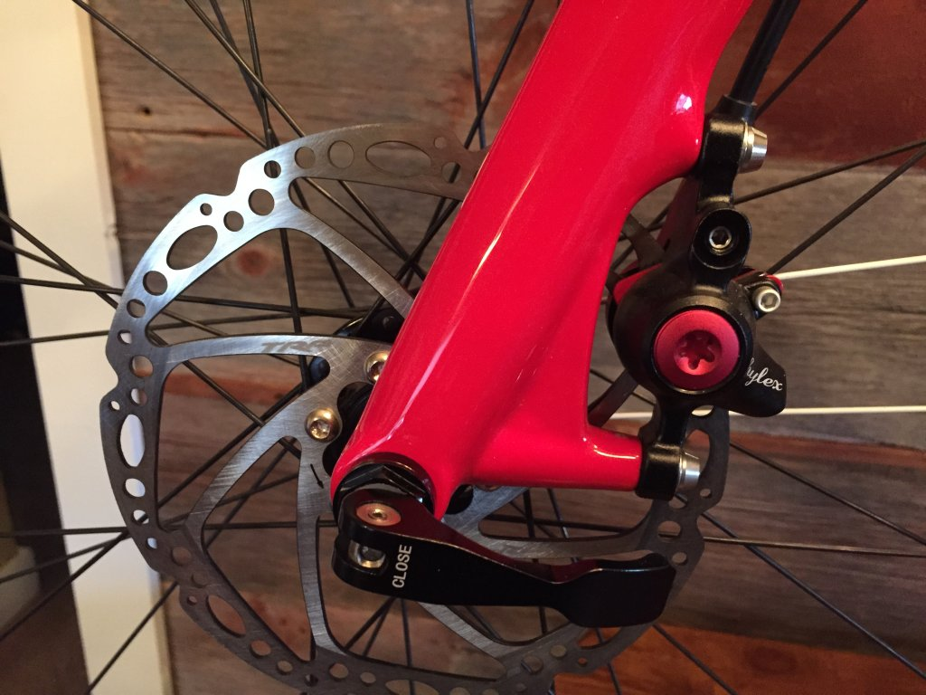 Miracle Bikes Thru Axle (FM286) Frame/Fork. Chinese Sourced Cross ...