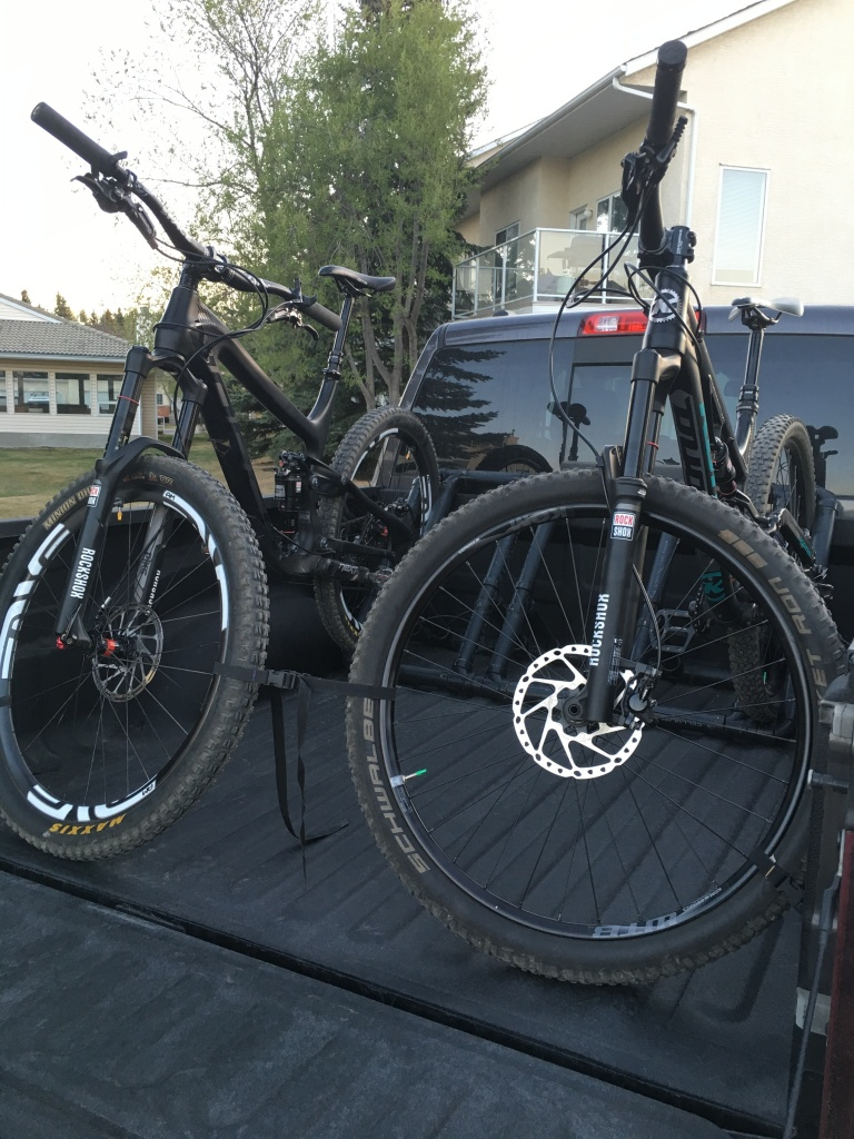 Pick up truck bike racks?