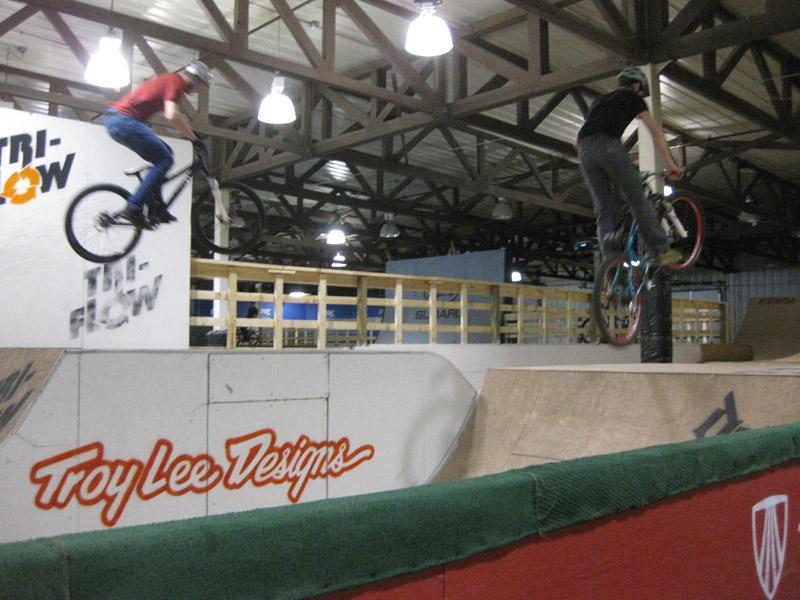 Rays MTB Park rythym jumps
