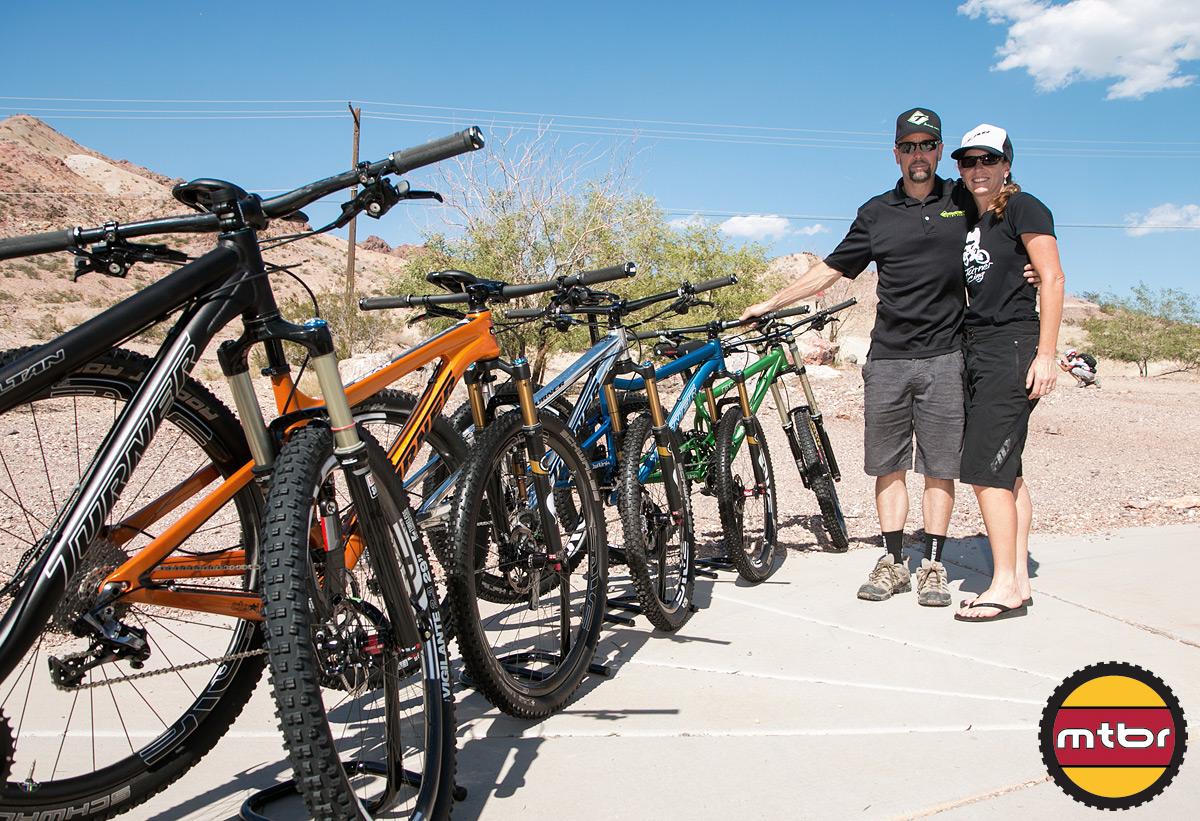 Turner Bikes Booth Photo