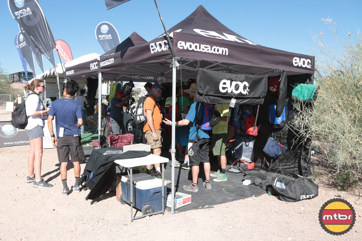 Evoc 2013 Interbike Outdoor Demo Booth