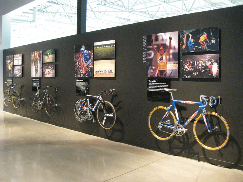 Lance's bikes