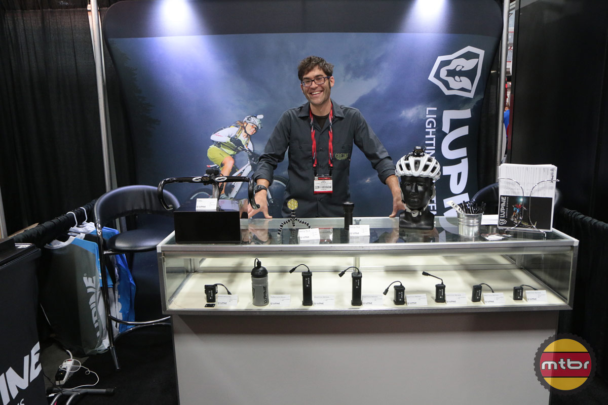 Lupine Lighting Interbike Booth