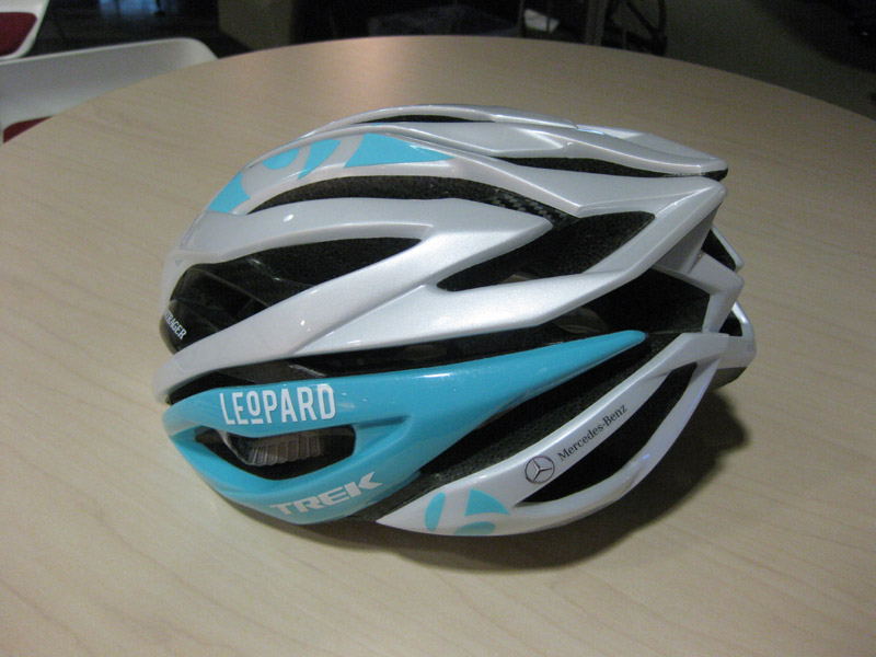 Leopard Trek team helmet